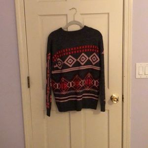 J. Crew Patterned Sweater